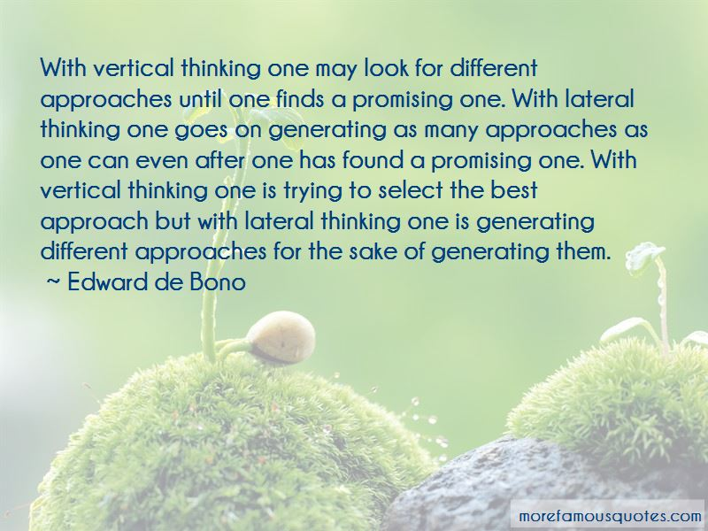 Lateral Thinking Quotes Pictures 4