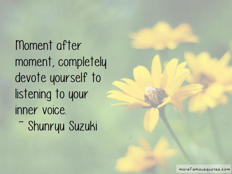 Quotes About Listening To Your Inner Voice