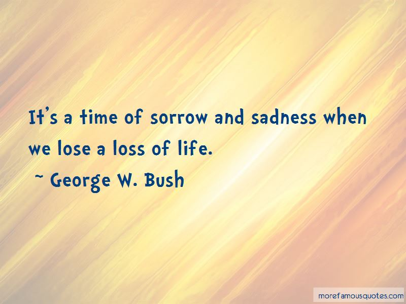 Quotes About Loss Of Life