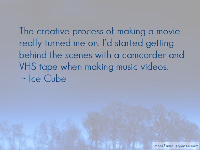 Quotes About Making Music Videos