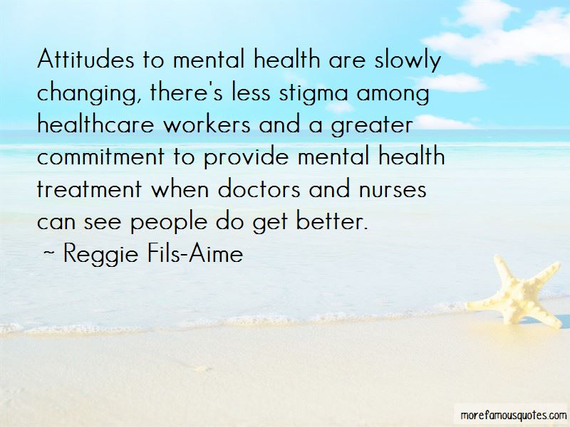 Quotes About Mental Health Stigma
