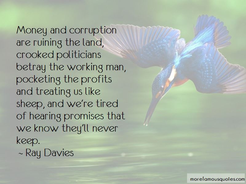 Quotes About Money And Corruption