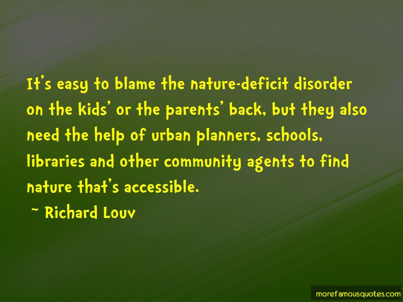 Quotes About Nature Deficit Disorder