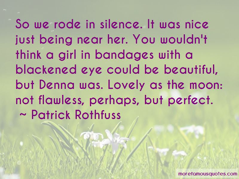 Not Being Perfect But Beautiful Quotes Pictures 3
