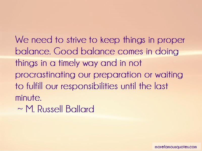 Quotes About Not Procrastinating