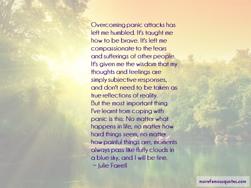 Quotes About Overcoming Panic Attacks