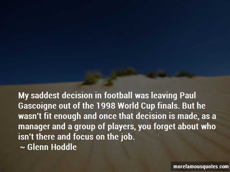 Quotes About Paul Gascoigne