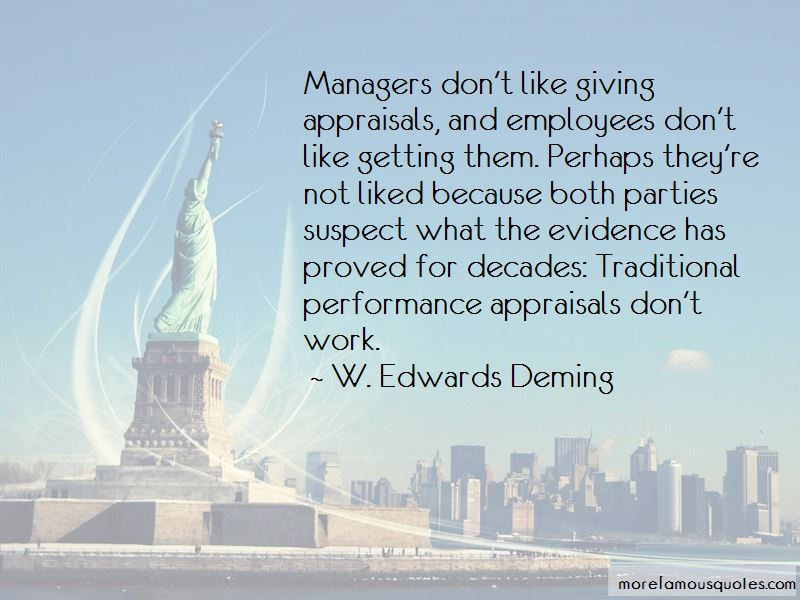 Quotes About Performance Appraisals