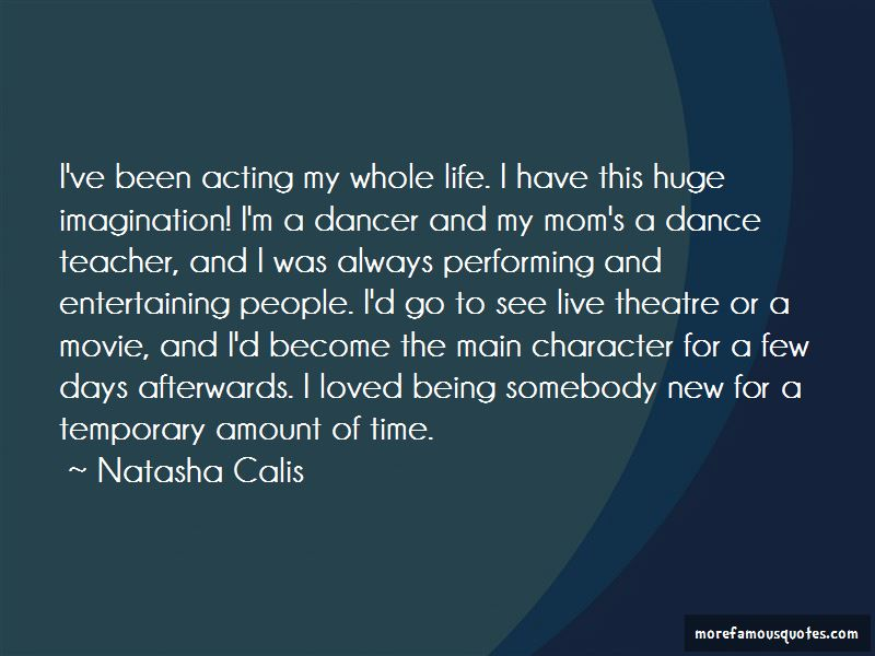 Quotes About Performing Dance