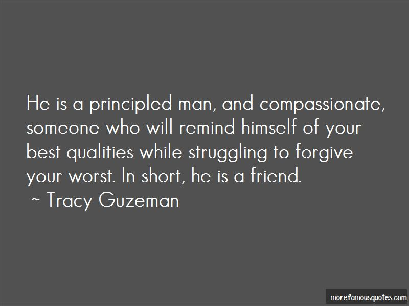 Quotes About Principled Man
