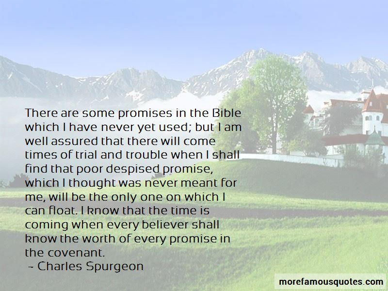 Quotes About Promises In The Bible