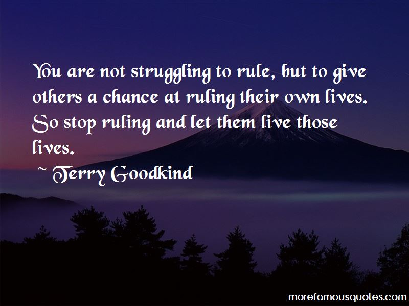 Quotes About Ruling