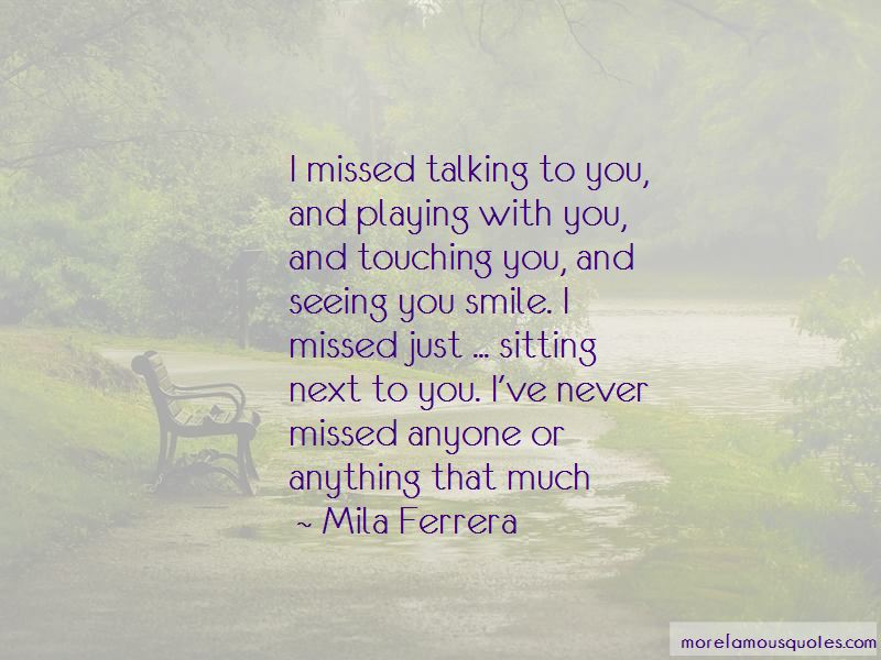 Quotes About Seeing You Smile