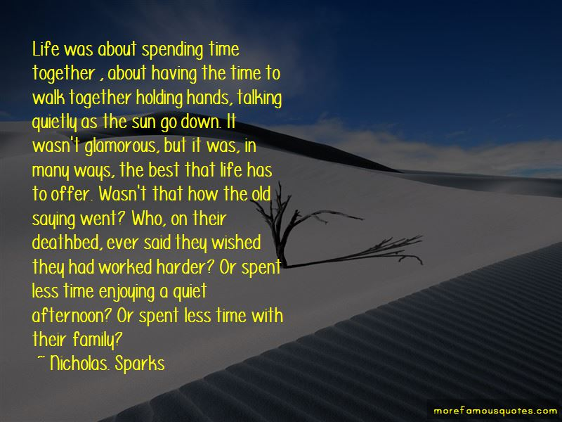 Quotes About Spending Family Time
