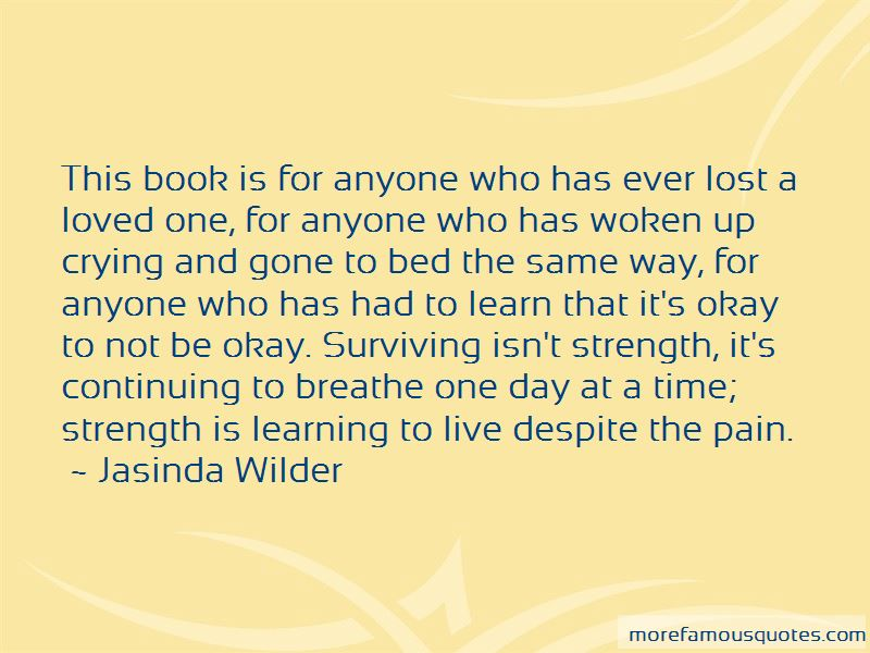 Quotes About Surviving Pain