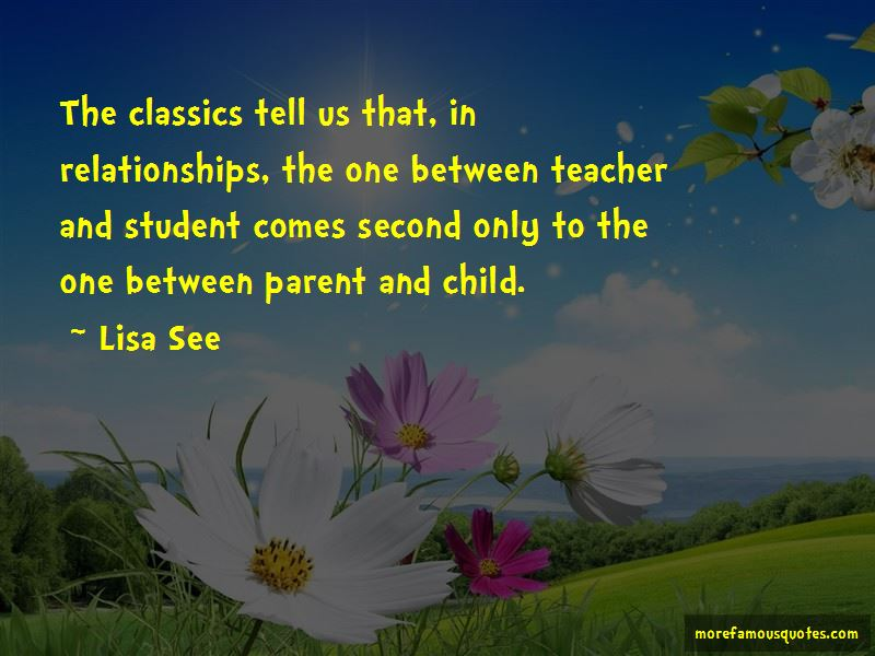 Teacher Student Relationships Quotes Pictures 3
