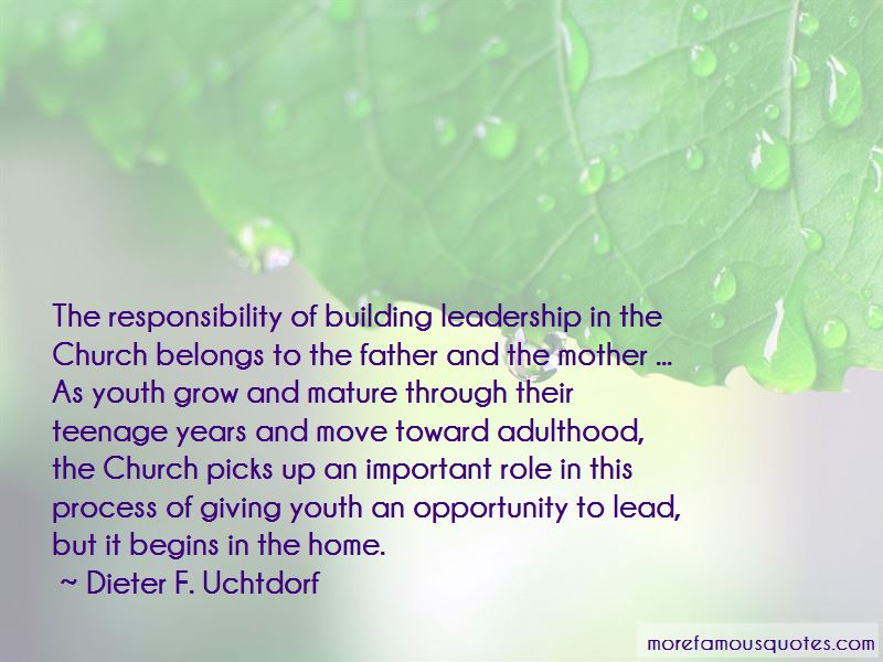 Quotes About Teenage Responsibility