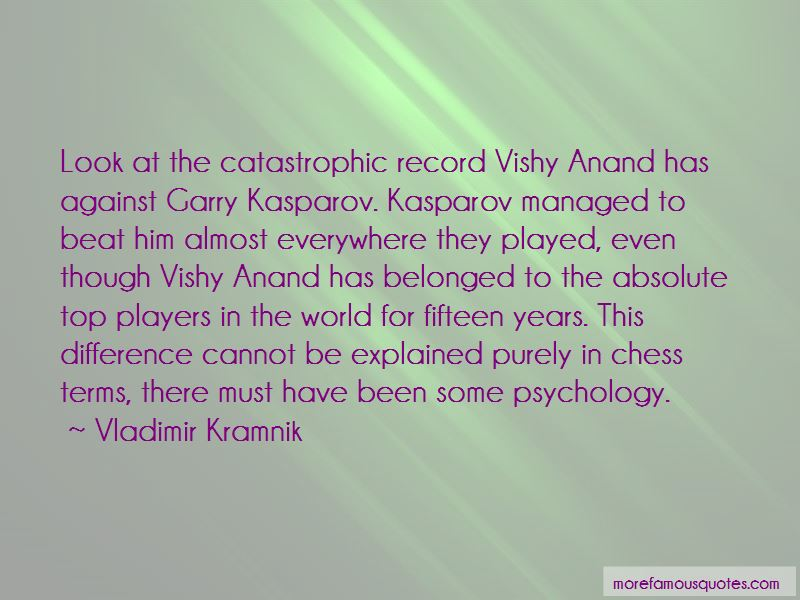 Quotes About Vishy Anand