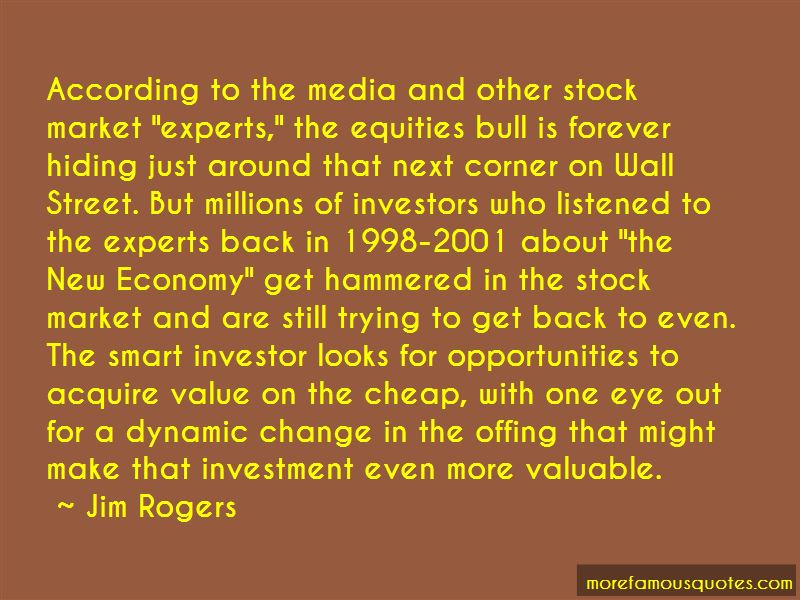 Quotes About Wall Street Bull
