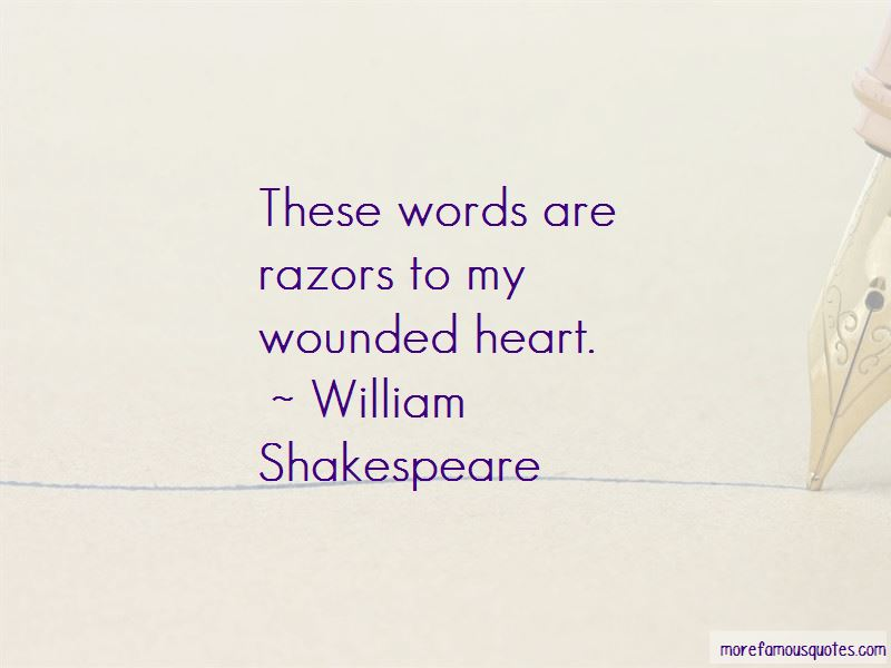 Quotes About Wounded