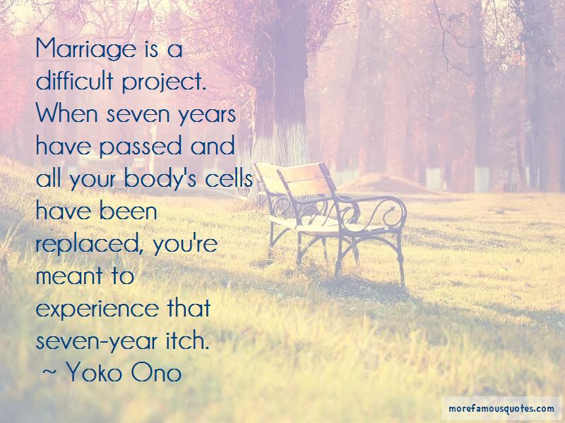 Seven Year Marriage Quotes