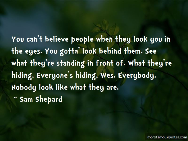 Standing By What You Believe Quotes Pictures 3