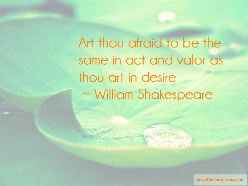 The Act Of Valor Quotes