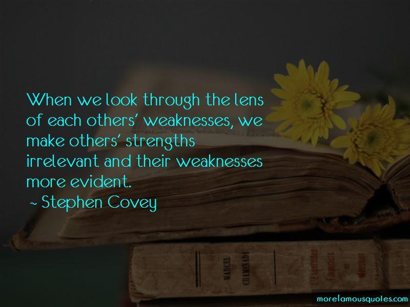 Through The Lens Quotes