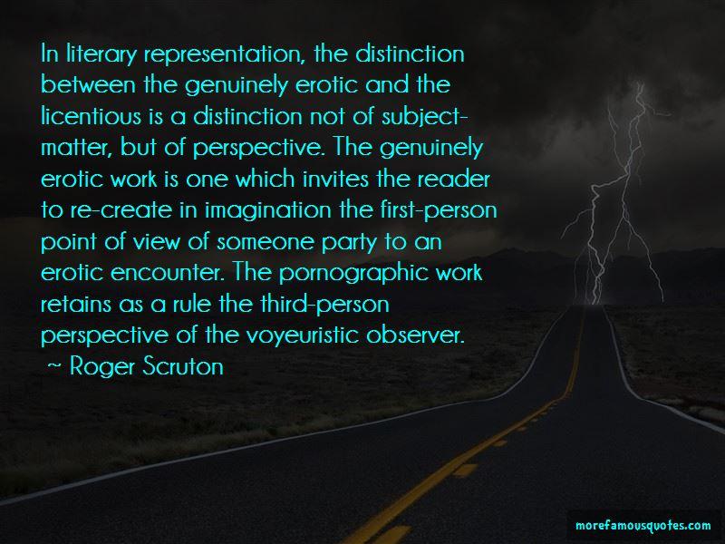 Voyeuristic Quotes
