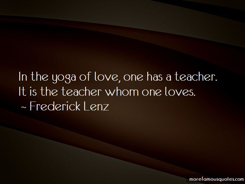 Yoga Is Love Quotes