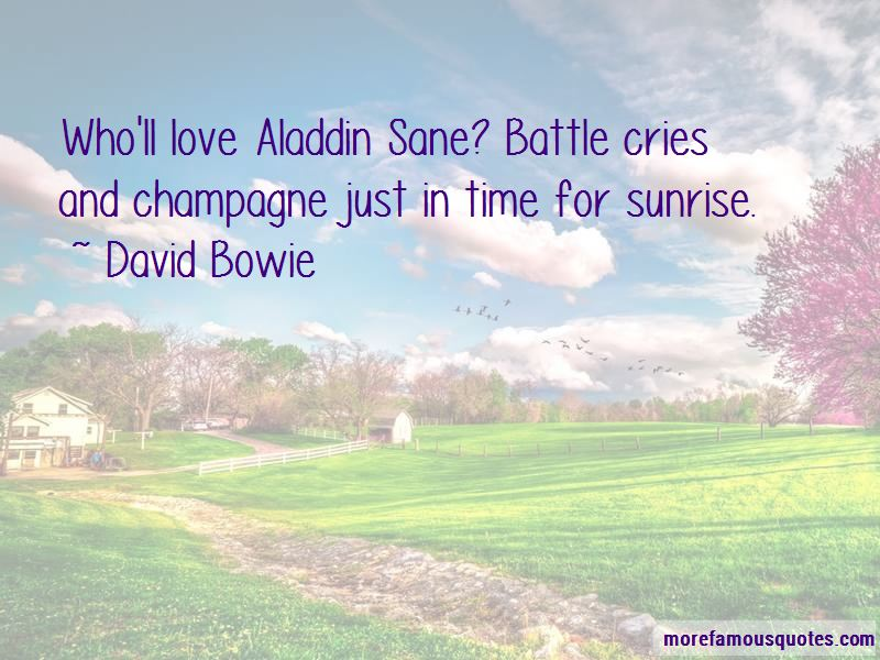 Aladdin Sane Quotes