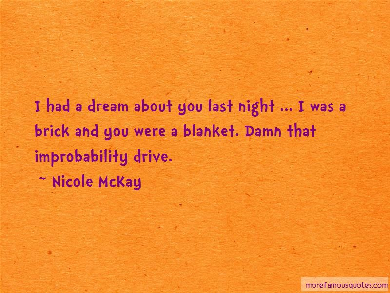 Blanket Drive Quotes