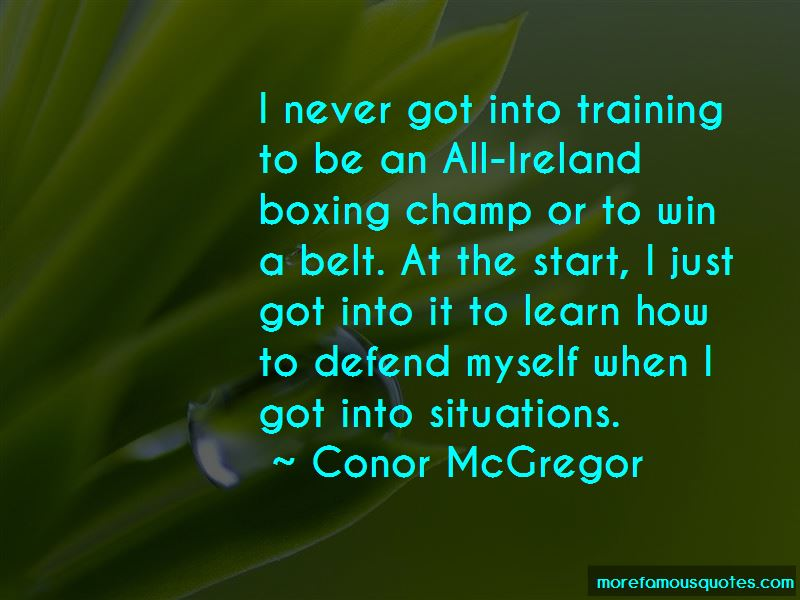 Boxing Champ Quotes