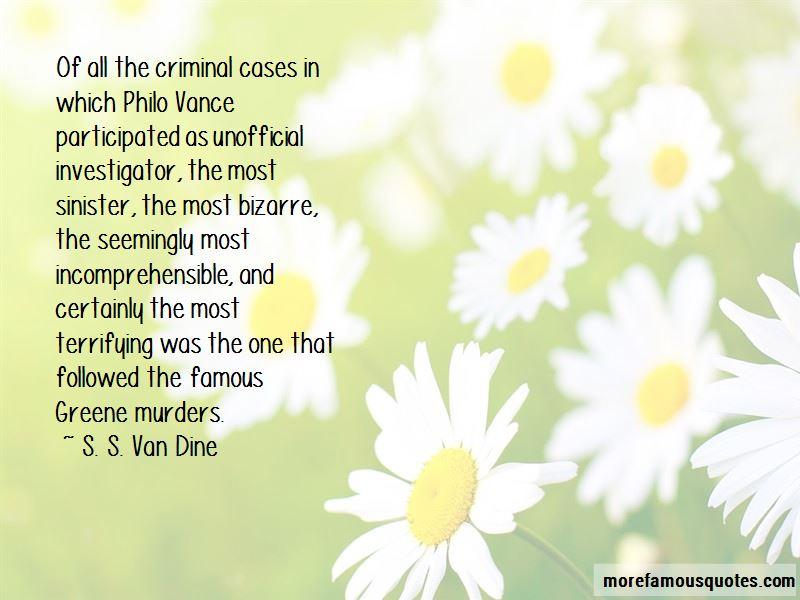 Criminal Investigator Quotes