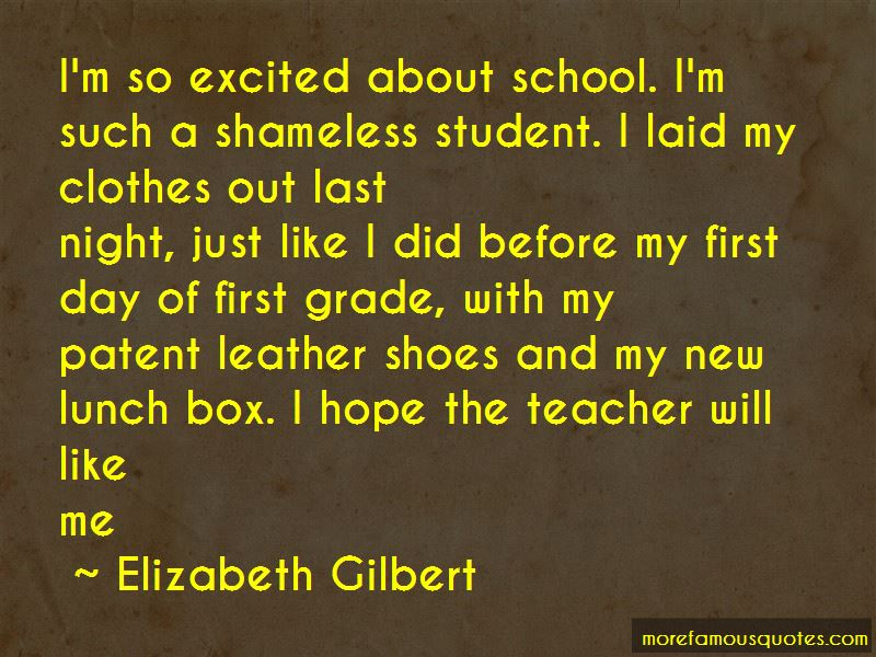 First Day Of First Grade Quotes