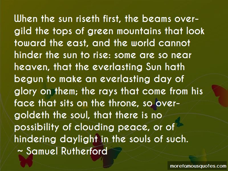First Sun Rays Quotes Pictures 2