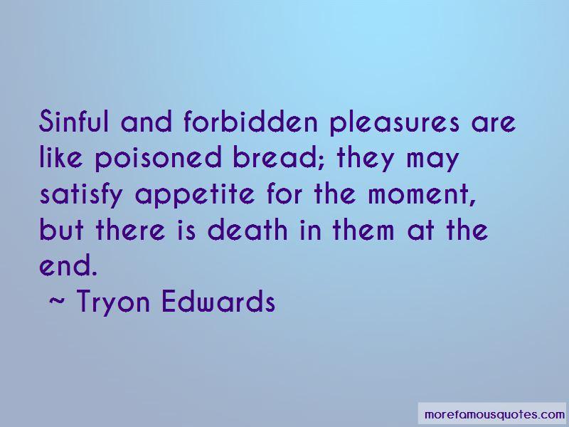 Forbidden Pleasures Quotes
