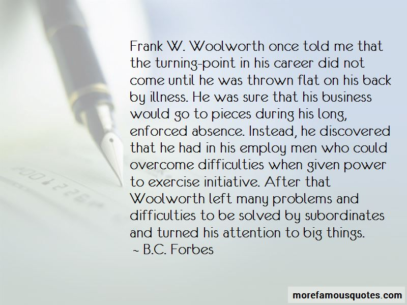Frank Woolworth Quotes