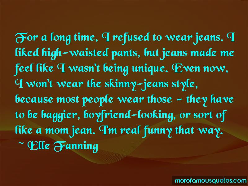 Funny Skinny Jean Quotes