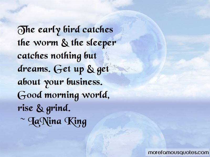 good morning early bird quotes