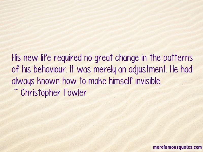How To Change Behaviour Quotes