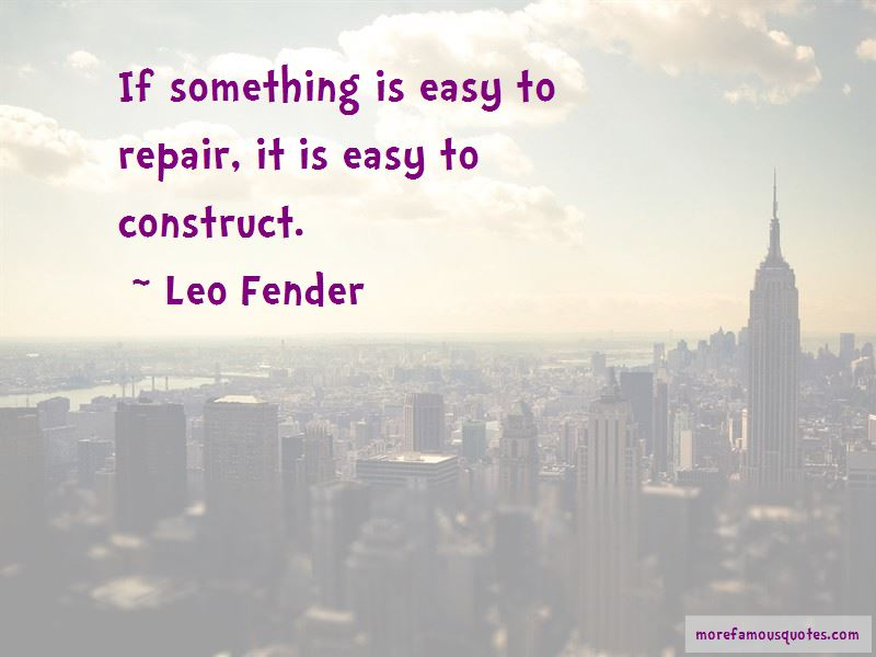 If Something Is Easy Quotes