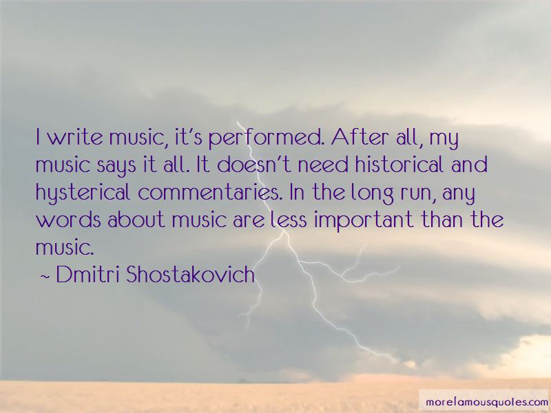 Music Says It All Quotes