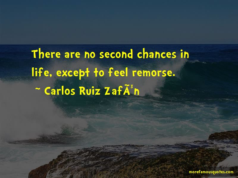 No Second Chances In Life Quotes