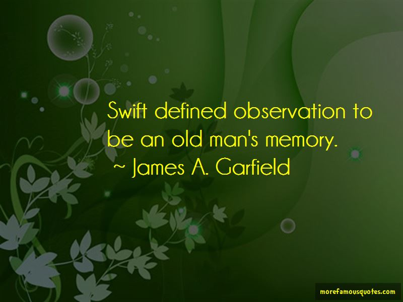 Old Man's Quotes