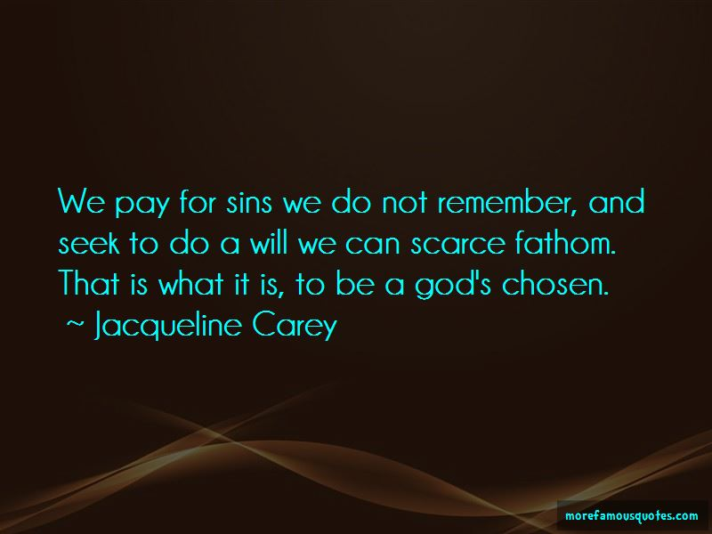 Pay For Sins Quotes