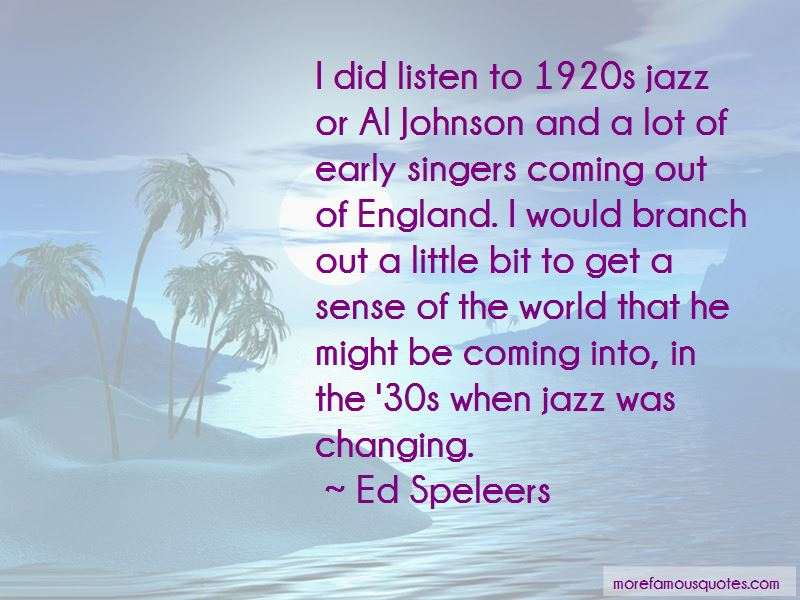 Quotes About 1920s Jazz