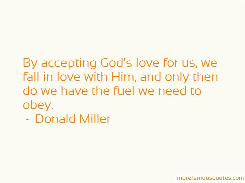 Quotes About Accepting God's Love