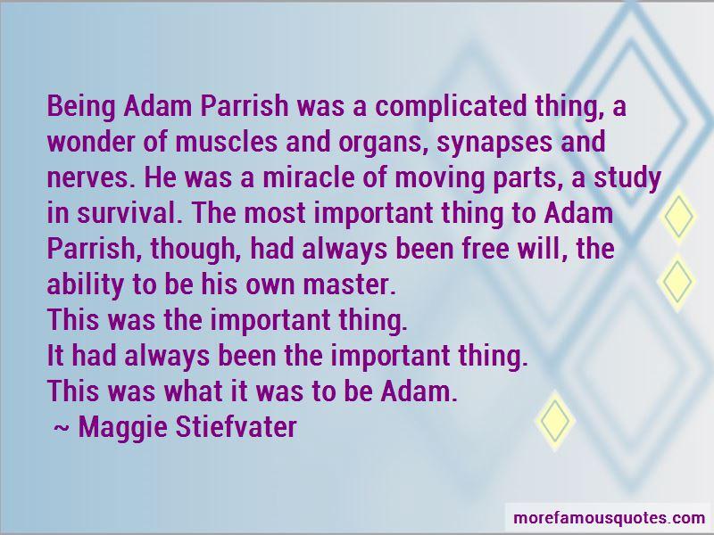 Adam Parrish Quotes Pictures 2