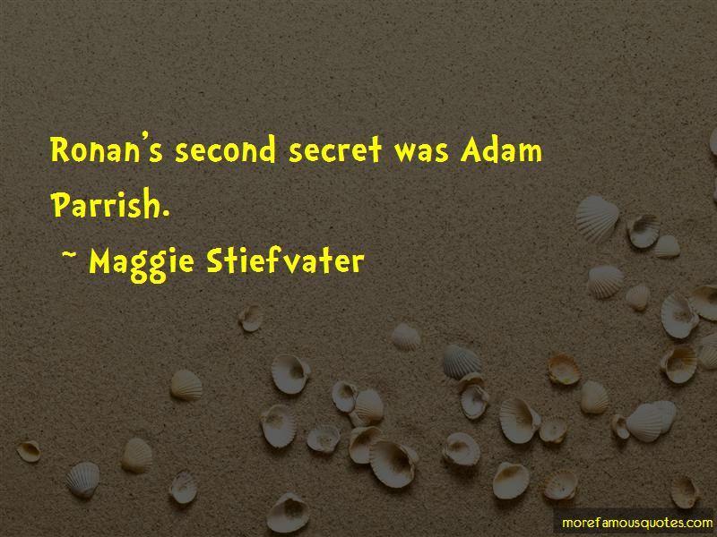 Quotes About Adam Parrish